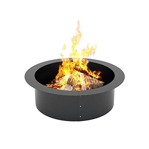 Klemp - Feuerstellen für den Garten, Feuerschale Stahlkonstruktion, Fire Pit für Heizung, Outdoor (Ø 97 cm x 67 cm)