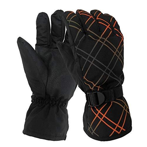 Berrd 1 paio di guanti da equitazione unisex per motociclisti invernali che guidano guanti caldi antiscivolo guanti antivento misura gratuita per escursioni in bicicletta b2