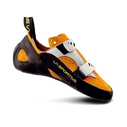 La Sportiva Jeckyl VS - Orange / Grey - EU / UK / US M / US W - Komfortabler Kletterschuh Weiß