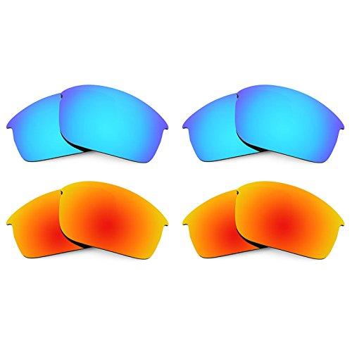 Revant Ersatzlinsen für Oakley Bottlecap XL Polarisiert 4 Paar Kombipack K022