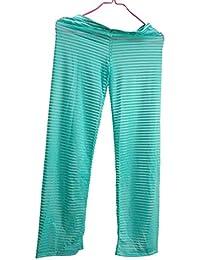 Hombre Pijamas Los Hombres de la Moda Sexy Pantalones de Rayas Transparentes Hombres Pijama Pantalones Hombre