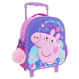 FACTORYCR- Trolley 3D Peppa Pig 27x13x31 cms, (482426)