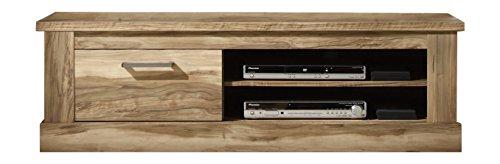 trendteam MT31660 TV Möbel Lowboard Nussbaum satin Nachbildung