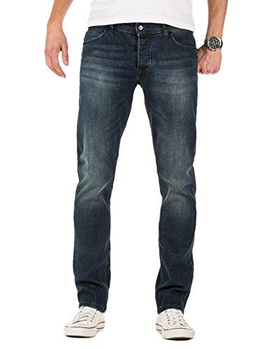 Denim Co (Yazubi Herren Jeans Juan slim, Blau (Insignia Blue 194028), W34/L32)