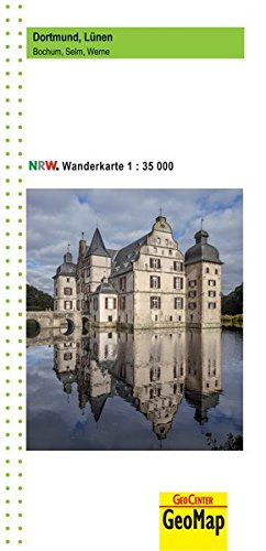 Bochum, Selm, Werne, Dortmund, Lünen -  Wanderkarte 1:35.000