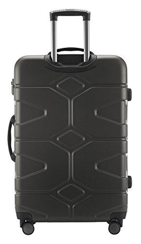 HAUPTSTADTKOFFER - X-Kölln - Hartschalen-Koffer Koffer Trolley Rollkoffer Reisekoffer, TSA, 76 cm, 120 Liter, Graphite matt - 4