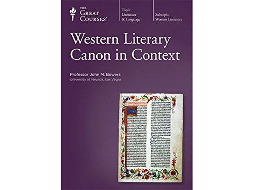 Preisvergleich Produktbild Great Courses: The Western Literary Canon in Context,  Parts 1-3