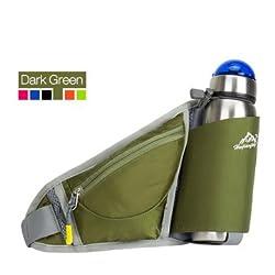 Generic Multifunction Bottle Carrier Portable Out-door Waist Bag Sports Pack Bag Storage Phone Bag Wallet