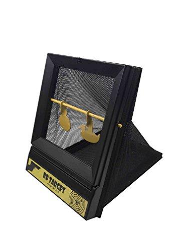 BB Kugelfang Nerf Soft Bullet Pellet Falle mit Spinner Target Innen mit 10Papier Ziele