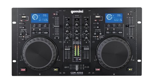 Gemini CDM-4000 Cd/Mp3 Usb 2Ch +-12% (doppio CDplayer +...