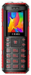 I KALL K26 Super strong 3D Speaker and Torch Light with Power bank feature- Red