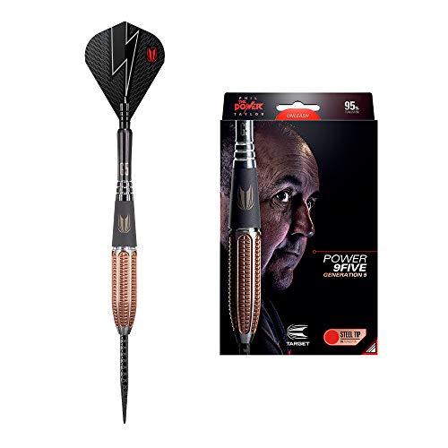 Target Darts Phil Taylor Power 9-Five 5. Generation 24G Wolfram Steeldarts-Set Dartpfeile