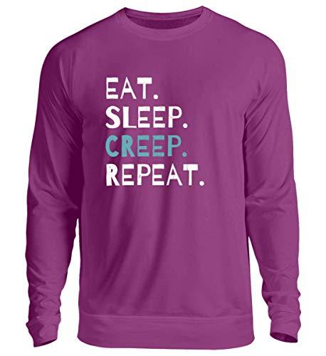 Eat Sleep Creep Repeat - An Halloween Das Wahre Gruselige schreckliche Ich Zeigen - Unisex Pullover