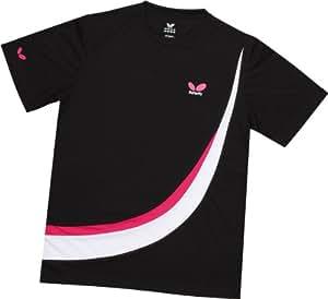 Butterfly shirt XL Schwarz-Magenta