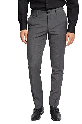 ESPRIT Collection Herren Anzughose Grau (Dark Grey 5 024)