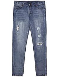 Fiorella Rubino   Jeans boyfit con Applicazioni (Italian Plus Size) cd54d382984c