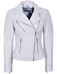 Smart Range Neu Damen 9334 Stilvolle Mode Designer Biker Weich Echtes  Lederjacke bbb5523481