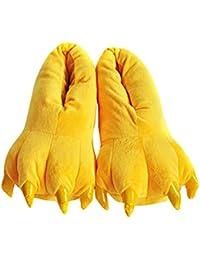 Aivtalk - Zapatillas Franela Suave Cálido Disfraz Garra de Animal de Pata Otoño Invierno Slipper Disfraz Cosplay Para…