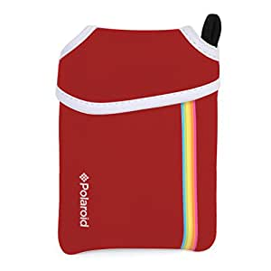 Pochette néoprène Polaroid pour imprimante Mobile Polaroid ZIP (rouge)