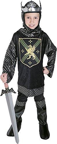 Rubies - Disfraz de rey guerrero, para niños, talla M (38806-M)