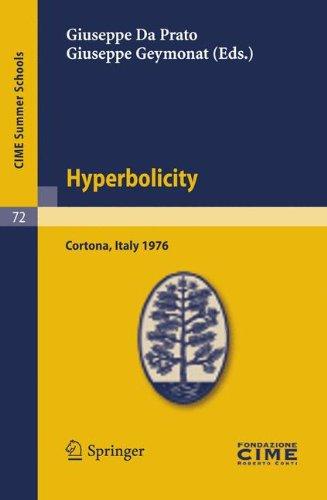 Hyperbolicity: Cortona, Italy 1976