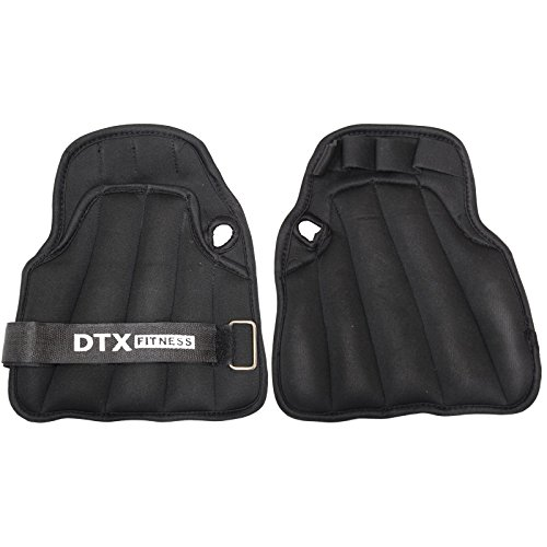 DTX Fitness Weighted Training Gloves - Choice Of Weights