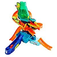 Hot Wheels - Renk Değiştiren Araçlar Çılgın Laboratuvar Oyun Seti (Mattel Ccp76)