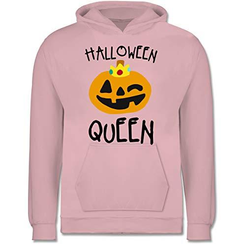 Kinder - Halloween Queen Kostüm - 9-11 Jahre (140) - Hellrosa - JH001K - Kinder Hoodie ()
