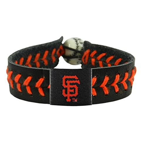 Caseys Distributing 7731400228 San Francisco Giants Baseball Bracelet- Team Color