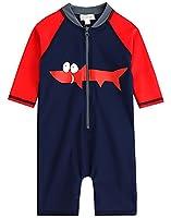 [Free Shipping]Vaenait Baby 0-24M Infant Boys Longsleeves One piece Swimsuit Baby Tucuxi S