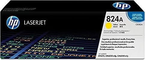 HP 824A (CB382A) Gelb Original Toner für HP Color Laserjet CP6015, CM6030, CM6041