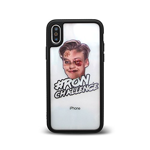 Original Ron Challenge Limited iPhone X Case by CellBee, Black Frame Blogger-kamera