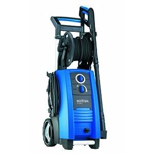 Nilfisk P 160.2-15 X-TRA Vertical Eléctrico 650, 570l/h 3300W Negro, Azul Limpiadora de alta presión o Hidrolimpiadora – Limpiador de alta presión (Vertical, Eléctrico, 15 m, 5 m, Negro, Azul, Aluminio)