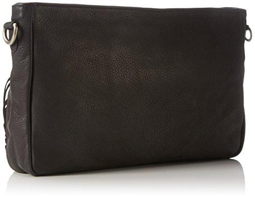 Amsterdam Cowboys Bag Addington, Sacs bandoulière Noir - Schwarz (Black 100)