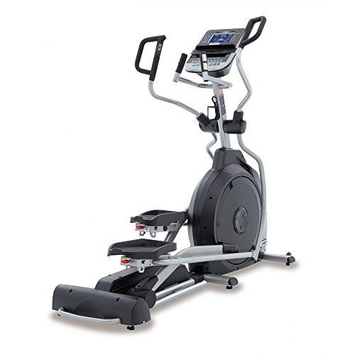 Spirit Fitness XE 395Ellipse Trainer, Cross Trainer avec capteurs de pouls de main, Ergomètre, Cardio Cross Trainer Vélo elliptique, noir, One Size