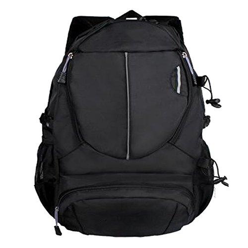 TUOZA Mens Freizeit Wandern Komfortablen Multifunktions-Reiserucksack Black