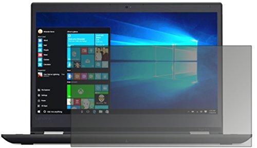 dipos I Blickschutzfolie matt passend für Lenovo ThinkPad Yoga 370 Sichtschutz-Folie Display-Schutzfolie Privacy-Filter