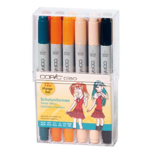 Copic Ciao - Schuleuniformen Farben - 12er Set