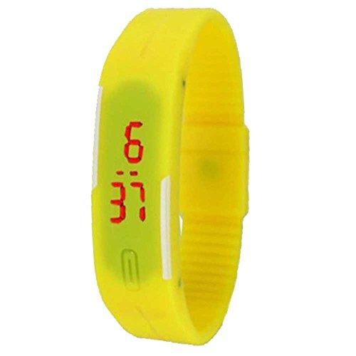 DESIGN CULTURE Digital Multi Dial Unisex Watch - DCLBCof4Y+O+Br+W