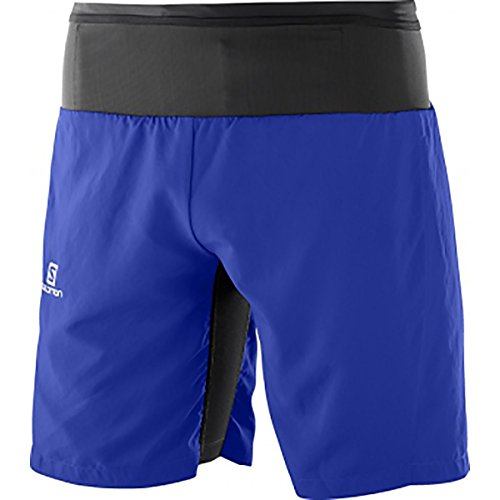 Salomon Trail Runner Twinskin Short M, Herren, Mehrfarbig (Surf The Web) Salomon Shorts