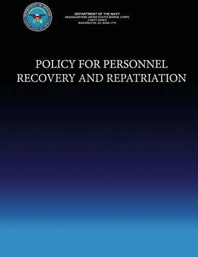 Policy For Personnel Recovery and Repatriation por Department of the Navy