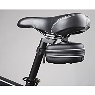 Lemon ® EVA wasserdicht Fahrrad-Satteltasche Rücksitz Packungen HECK Quick Release Mountainbikes MTB, schwarz