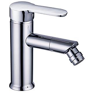 DP Bath Roble - Single lever bidet mixer tap, silver