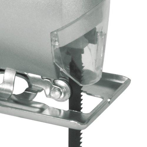 bavaria Stichsäge BJS 400 (350 W, Schnitttiefe Holz/Stahl/Kunststoff: 55/6/10 mm, inkl. Sägeblatt für Holz, Innensechskantschlüssel) - 3