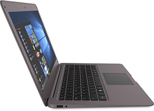 TREKSTOR SURFBOOK W2 358 cm 141 Zoll Notebook mattes whole HD show IPS touching Intel Atom x5 Z8300 64 GB Festplatte 4 GB RAM Windows 10 your home Amethyst Anthrazit Notebooks
