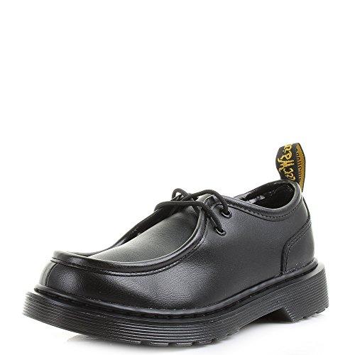 Dr Martens Juniors Schwarz Hambleton Moc Toe Schuhe-UK 10 Infant Dr Martens Moc Toe