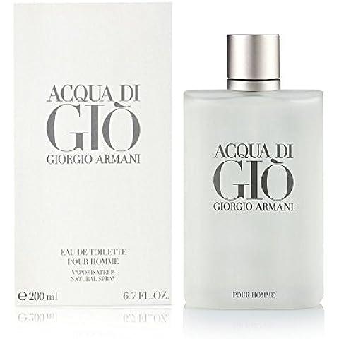 Giorgio Armani Acqua di Giò Eau de Toilette, Uomo, 200