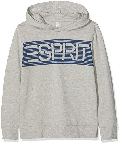 ESPRIT KIDS Jungen Sweatshirt RM1502608, Grau (Heather Grey 203), 170 (Herstellergröße: XL)