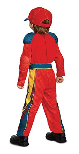 Image of Disguise Lightning McQueen Classic Toddler Costume Small (2T)