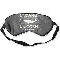 Narwhal Unicorn Of The Sea 99% Eyeshade Blinders Sleeping Eye Patch Eye Mask Blindfold For Travel Insomnia Meditation preisvergleich bei billige-tabletten.eu